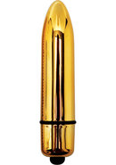 Eve After Dark 3 Speed Vibrating Bullet Waterproof Gold
