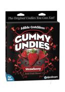 Edible Male Gummy Undies Strawberry