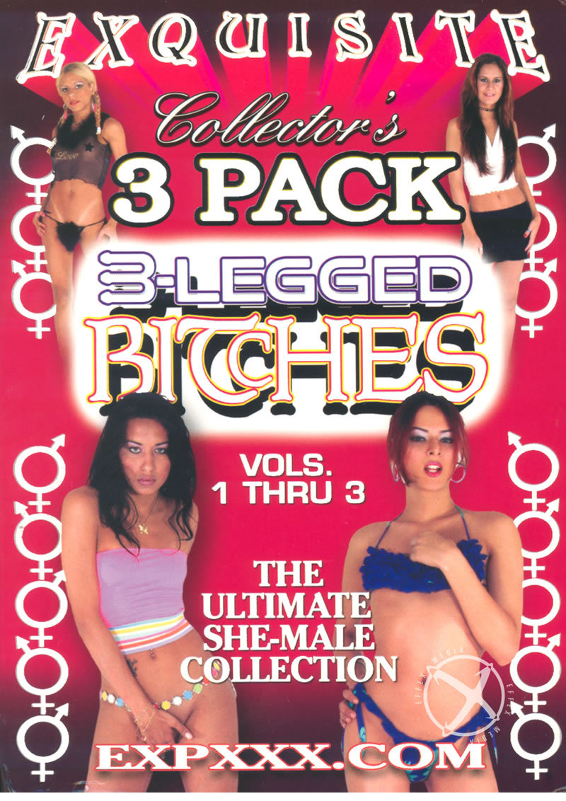3pk 3 Legged Bitches Vol 1-3