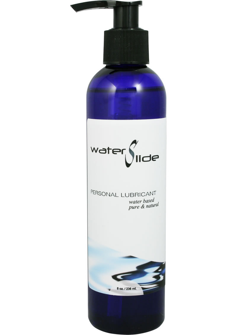 Water Slide Water Based Personal Lubricant 8 Ounce
