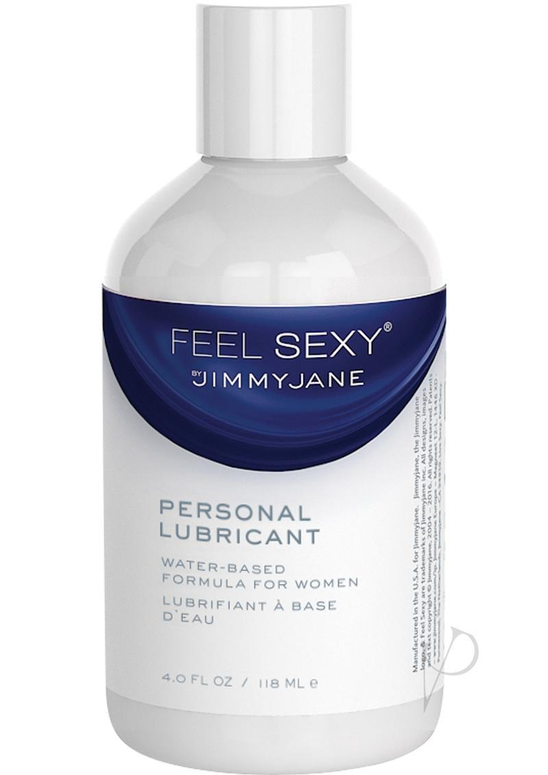 Jimmyjane Feel Sexy Personal Water Based Lubricant 4 Ounce