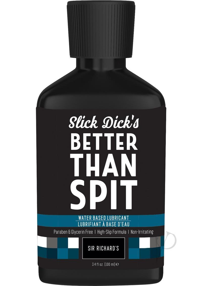 Slick Dick`s Much Better Than Spit Water Based Lubricant 3.4 Ounce
